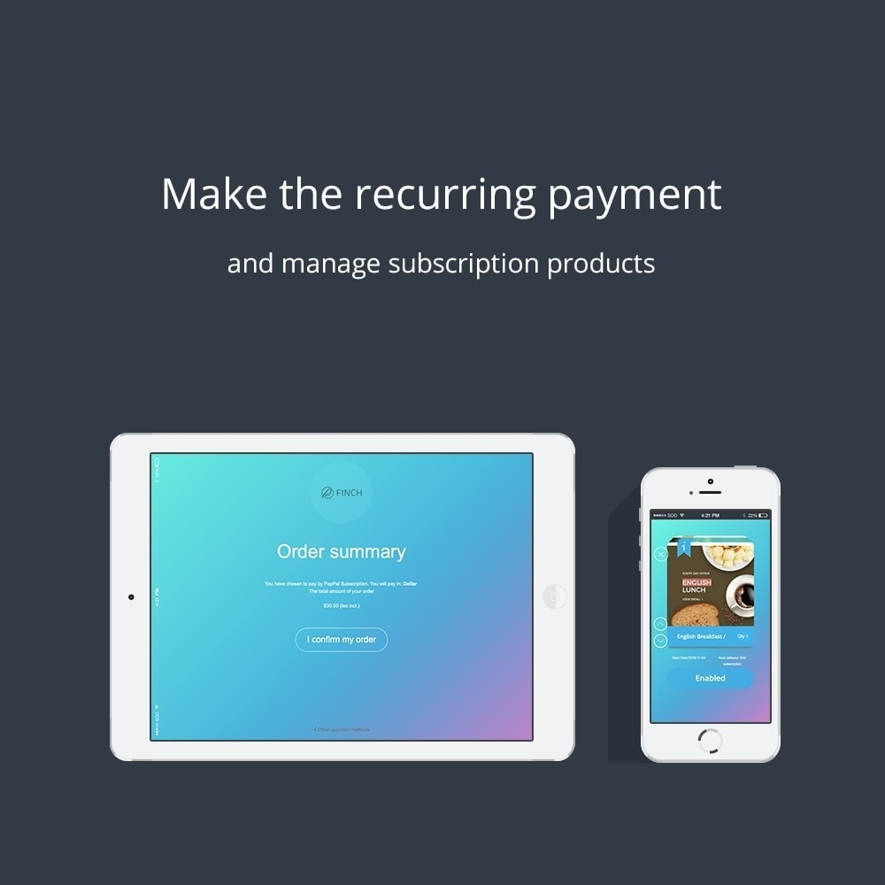 module - Pago recurrente (abono) - SOO Paypal Subscriptions & Recurring Payment - 8