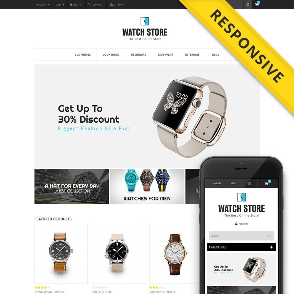 theme - Jewelry & Accessories - Latest Watch Store - 1