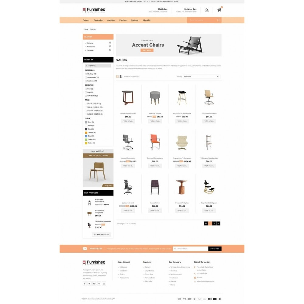 Furnished - Best Online Store