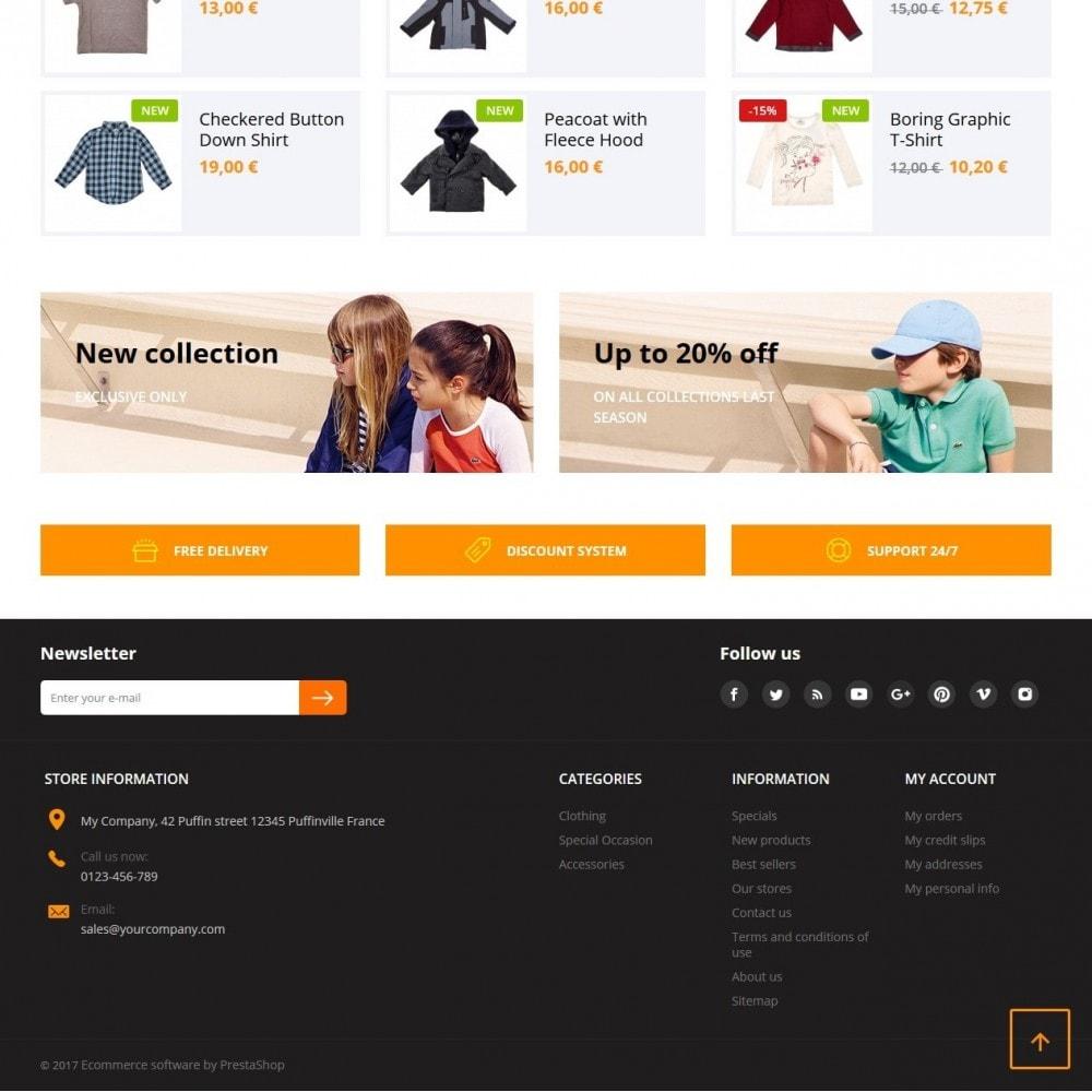 theme - Kinderen & Speelgoed - Quantify - Kids Clothes - 3