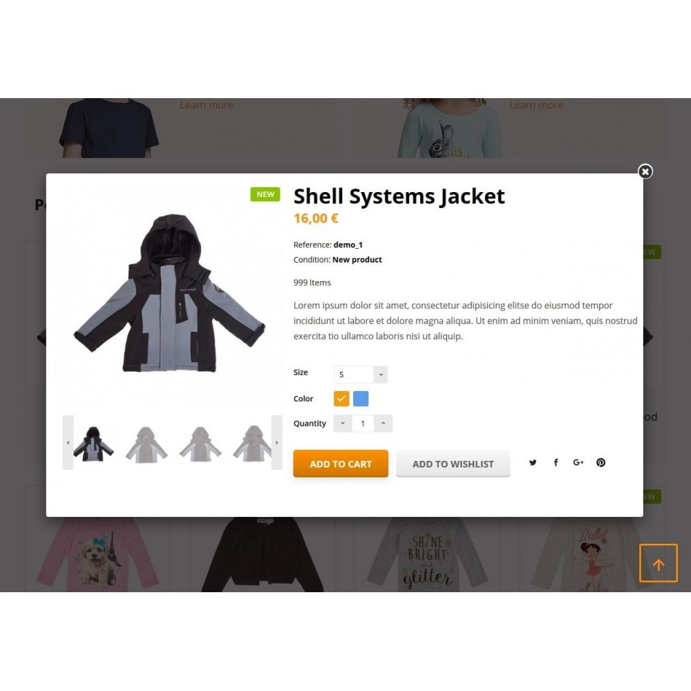 theme - Kinderen & Speelgoed - Quantify - Kids Clothes - 5