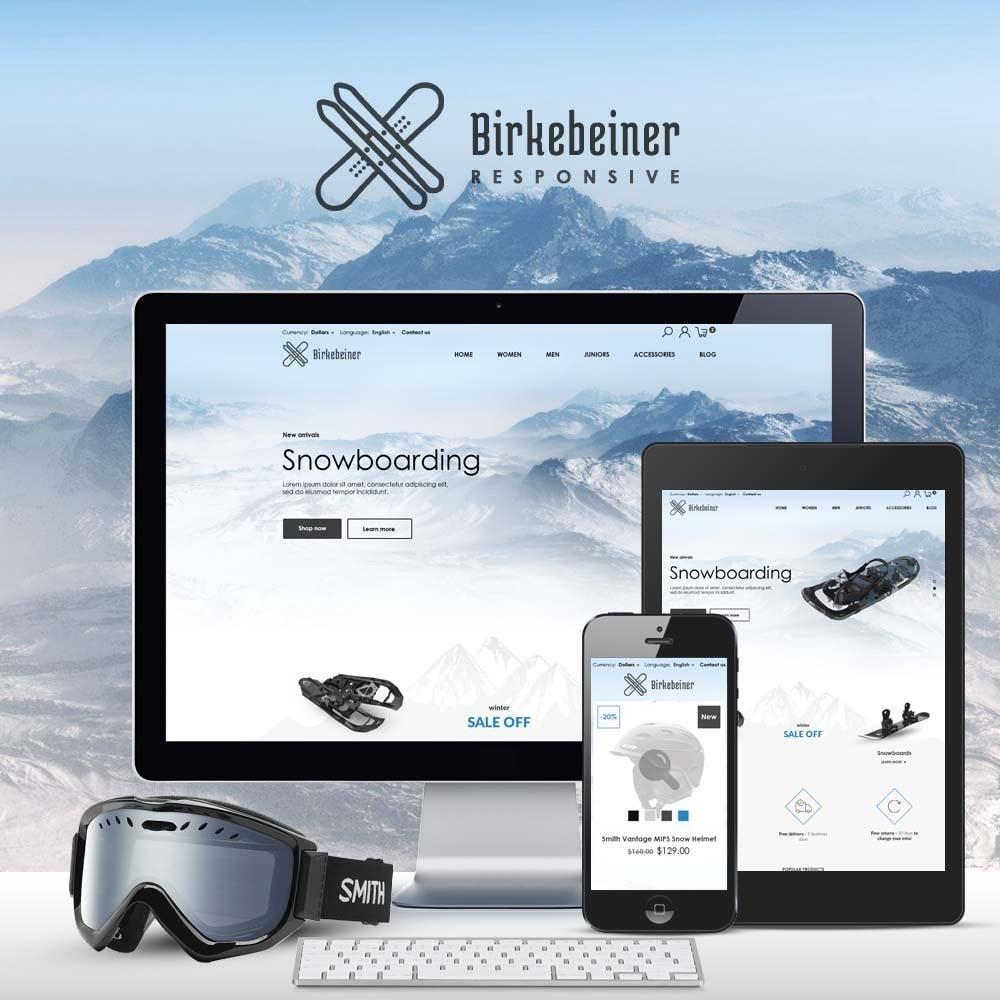 theme - Спорт и Путешествия - Birkebeiner - Active Sport - 1
