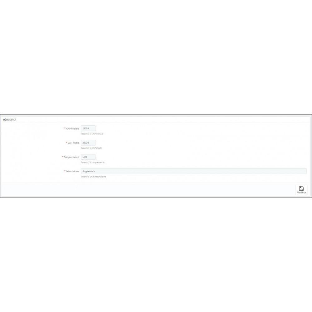 module - Custo de frete - Nexive - 2