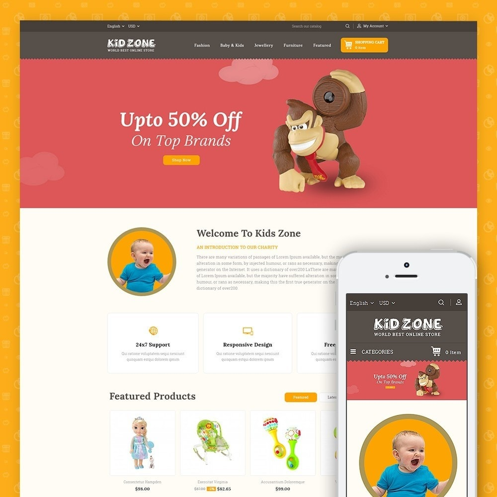 Kid Zone Online Store