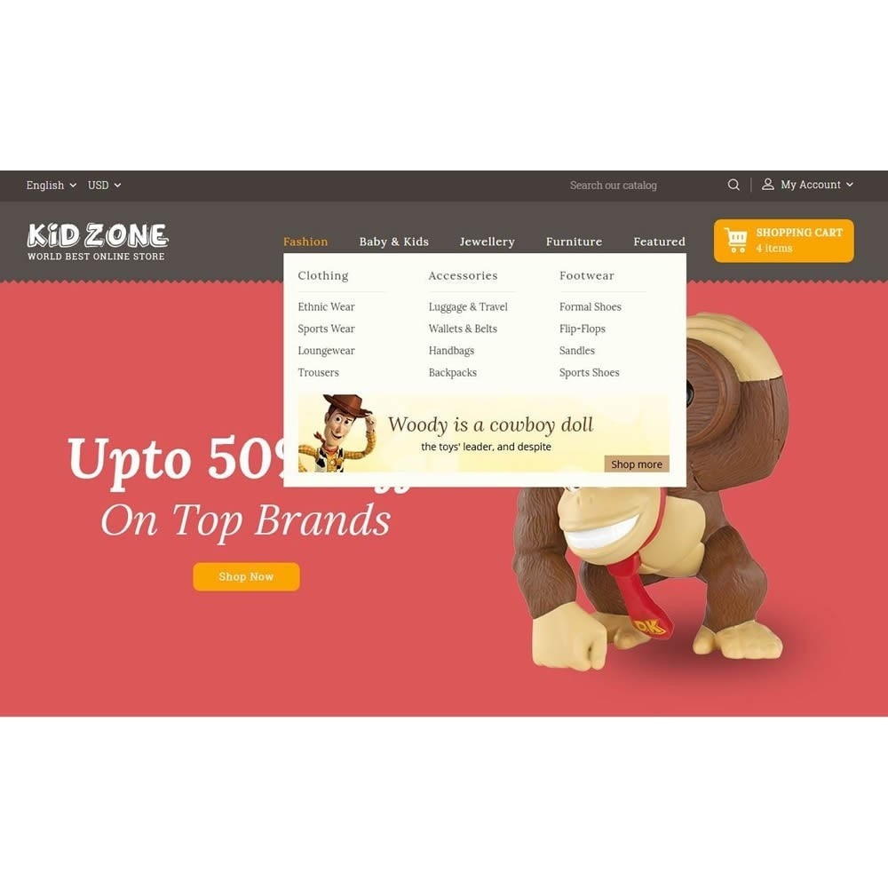 theme - Kids & Toys - Kid Zone Online Store - 7