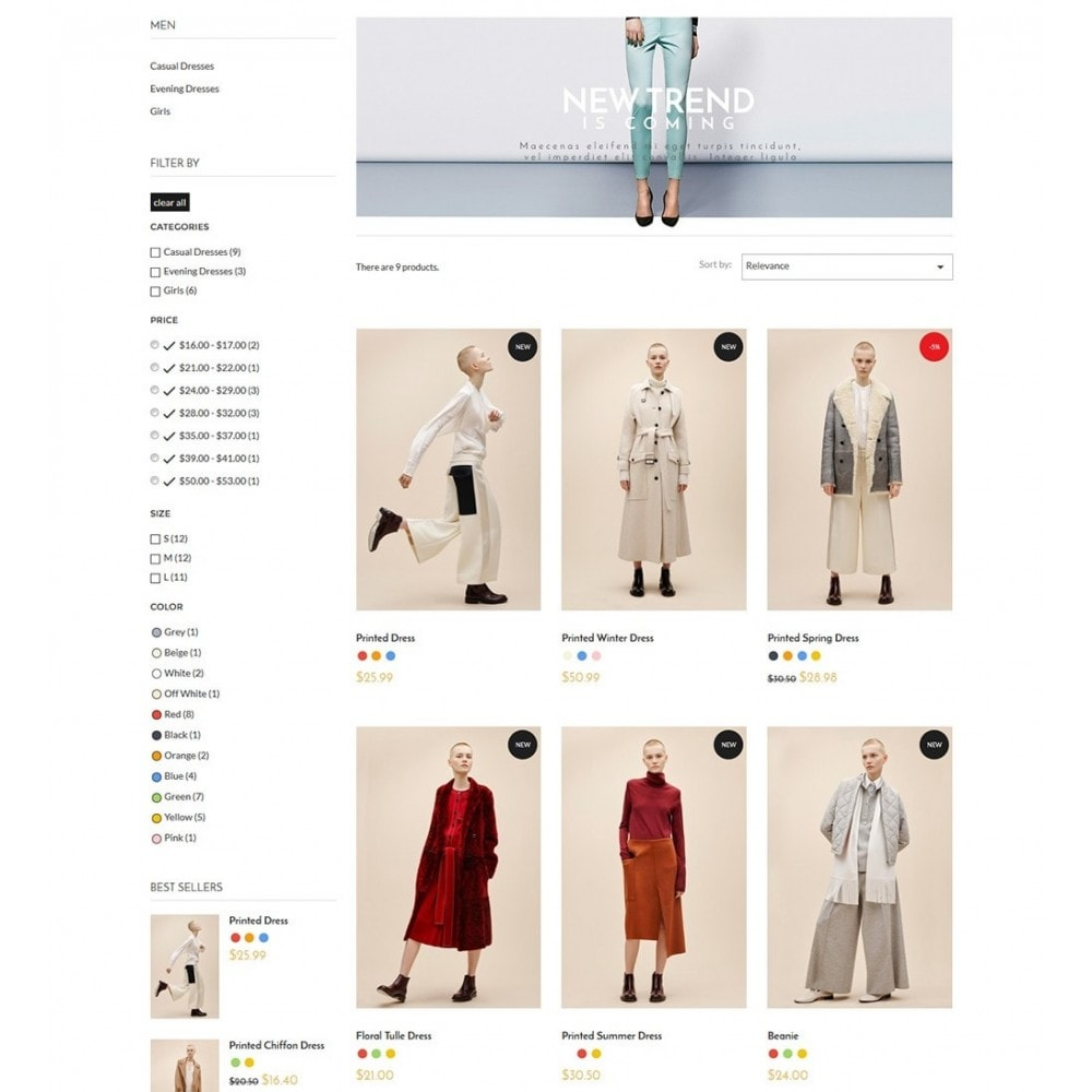 theme - Moda & Calzature - Blanc Fashion Store - 5
