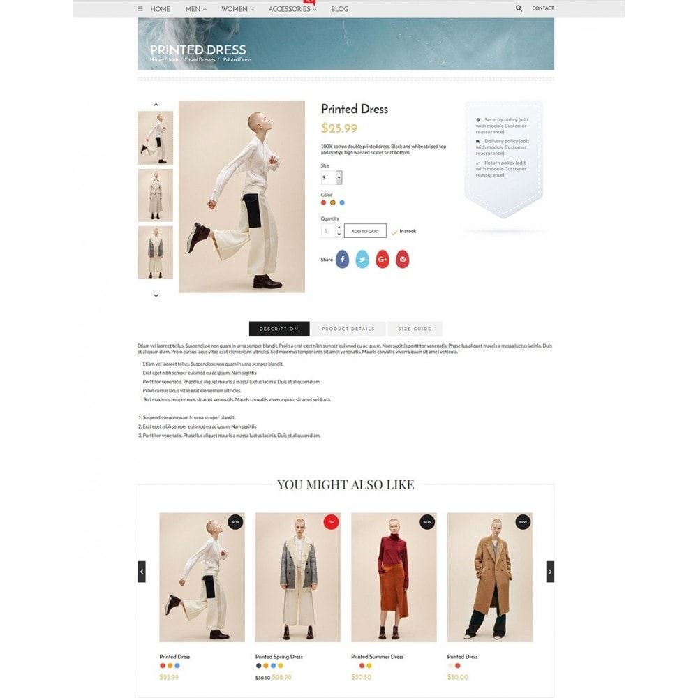 theme - Mode & Schuhe - Blanc Fashion Store - 6