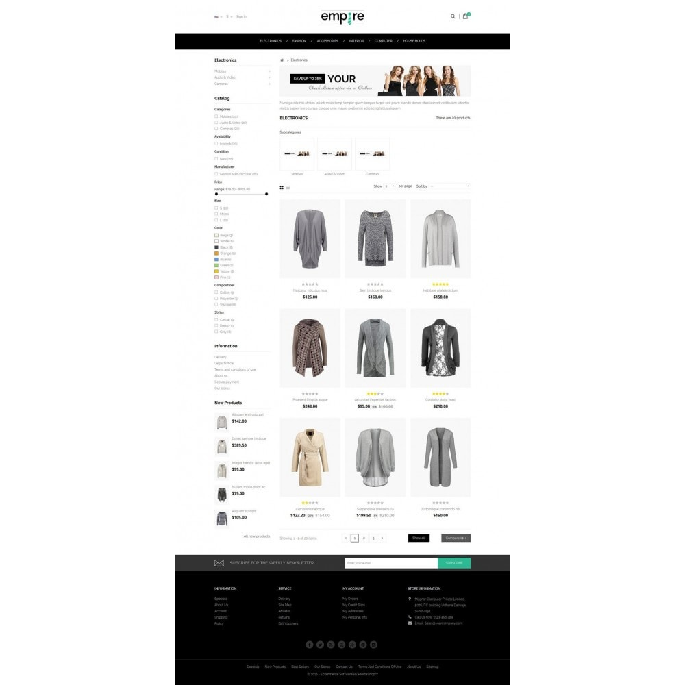 theme - Moda & Calzature - Empire Shop - 3