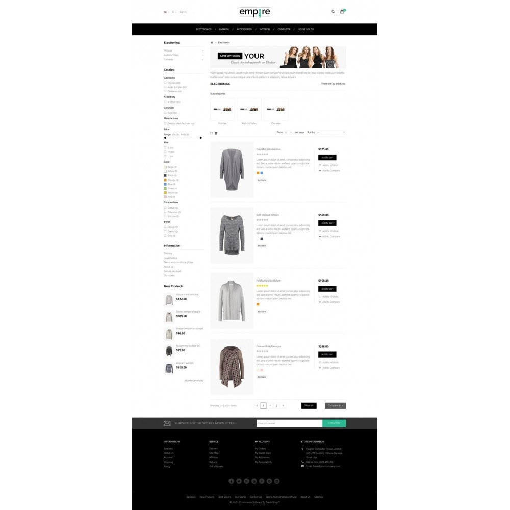 theme - Moda & Calzature - Empire Shop - 4