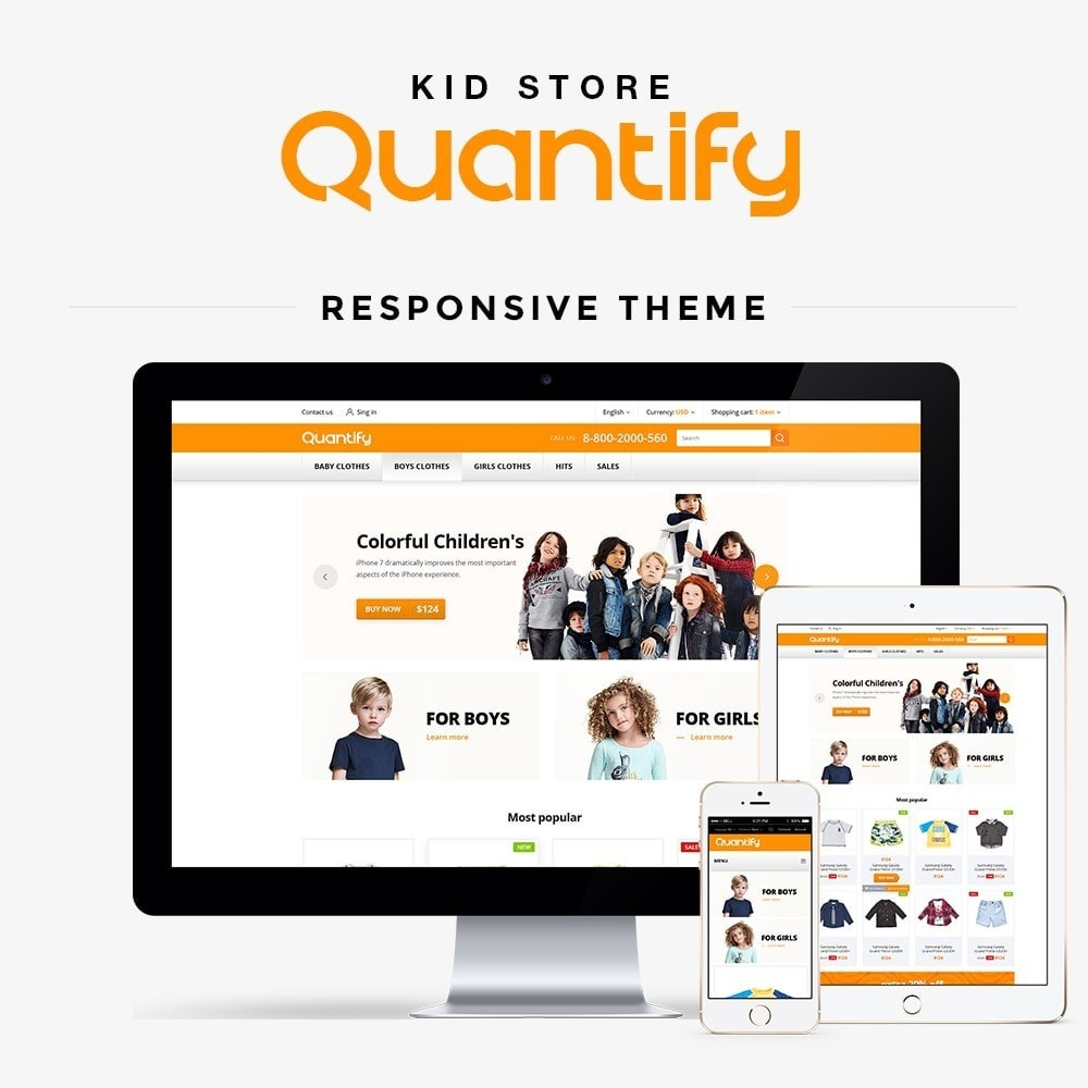 Quantify - Kids Clothes