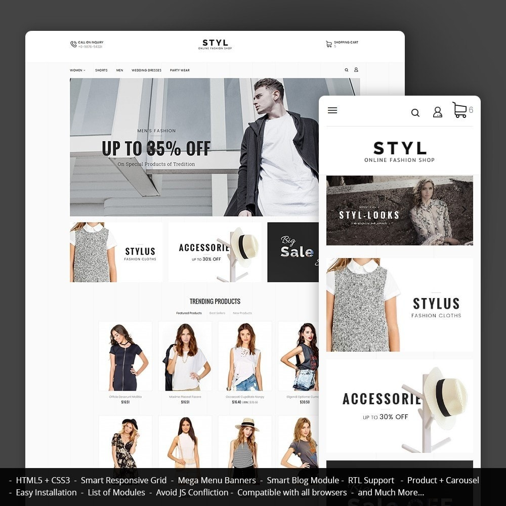 theme - Mode & Schuhe - Style Fashion Store - 1