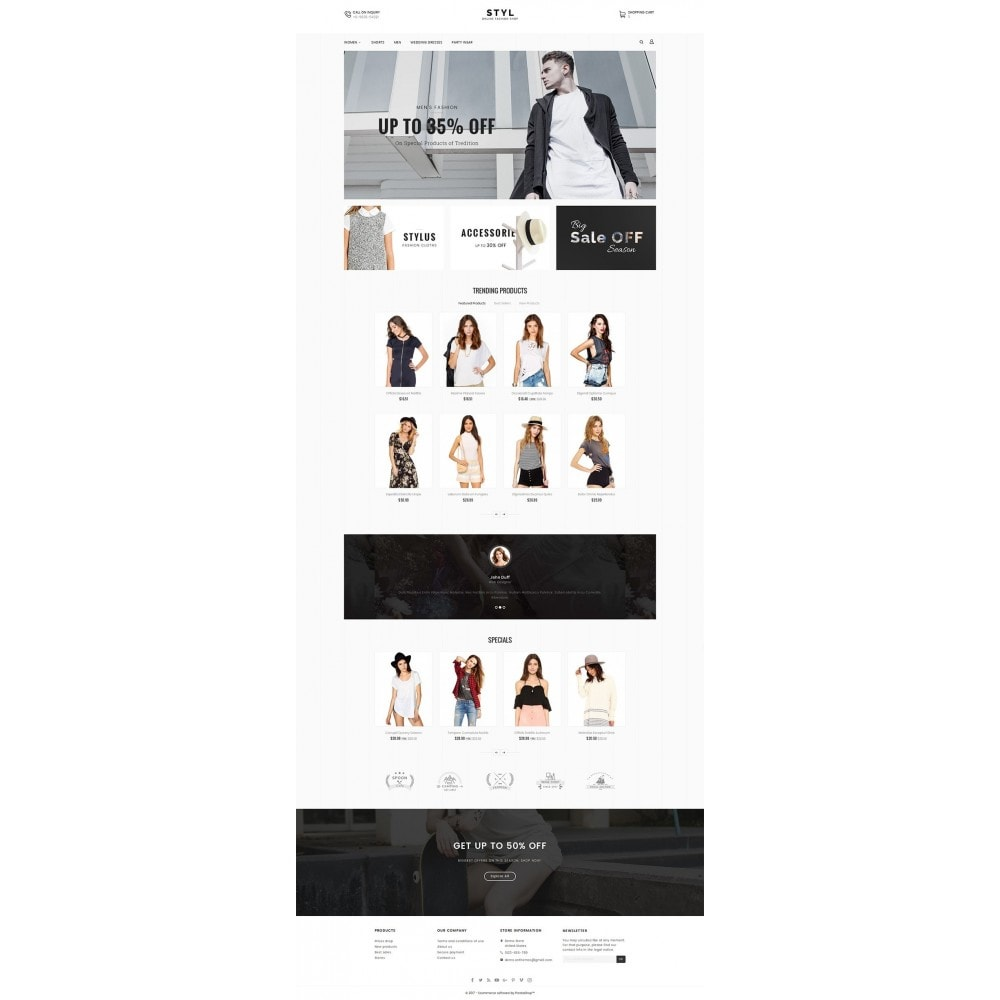 theme - Mode & Schuhe - Style Fashion Store - 2