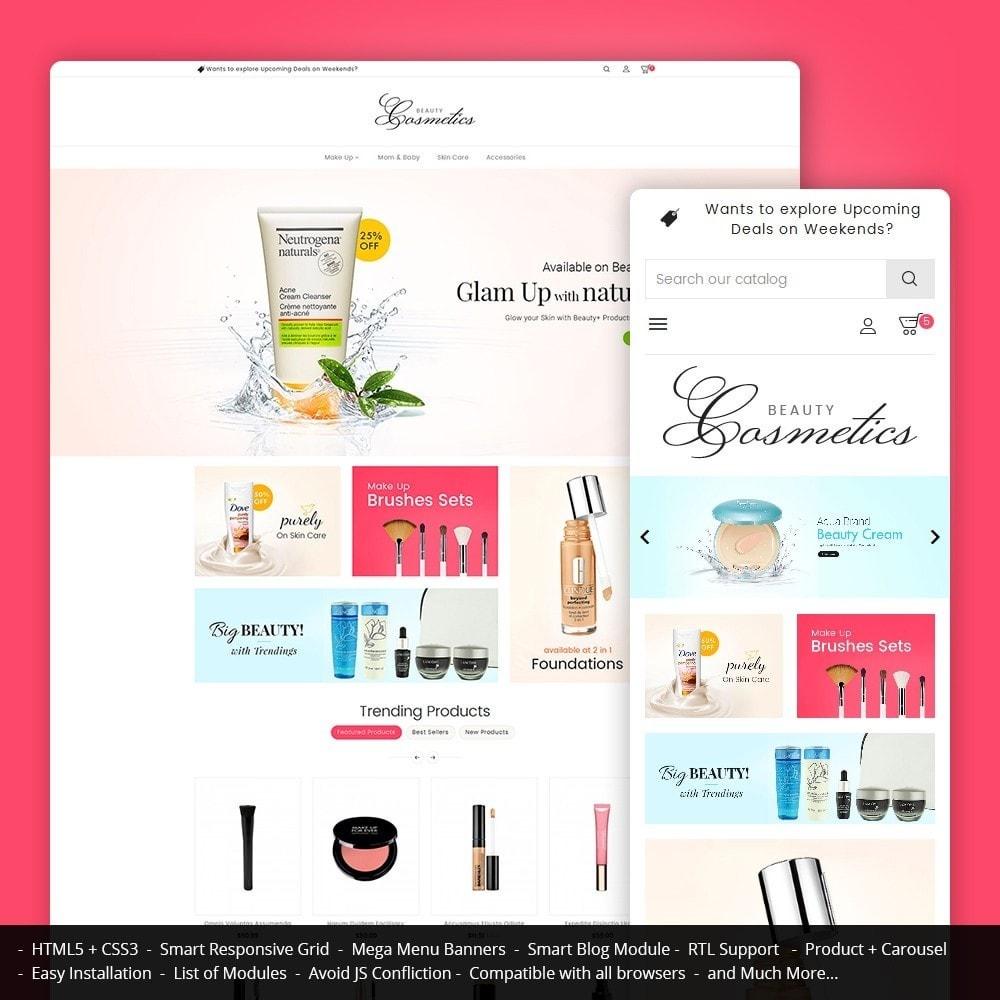 theme - Здоровье и красота - Cosmetics Store - 1