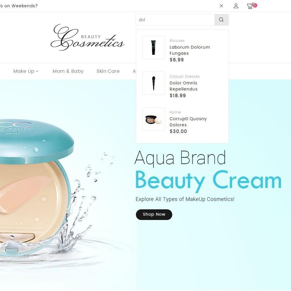 theme - Здоровье и красота - Cosmetics Store - 9