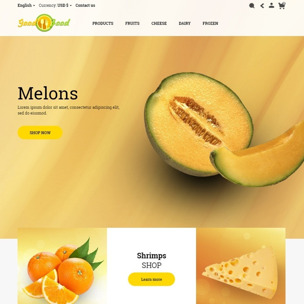 theme - Alimentos & Restaurantes - GoodFood - 2