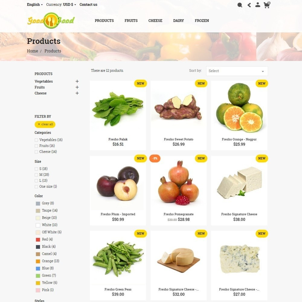 theme - Alimentos & Restaurantes - GoodFood - 6