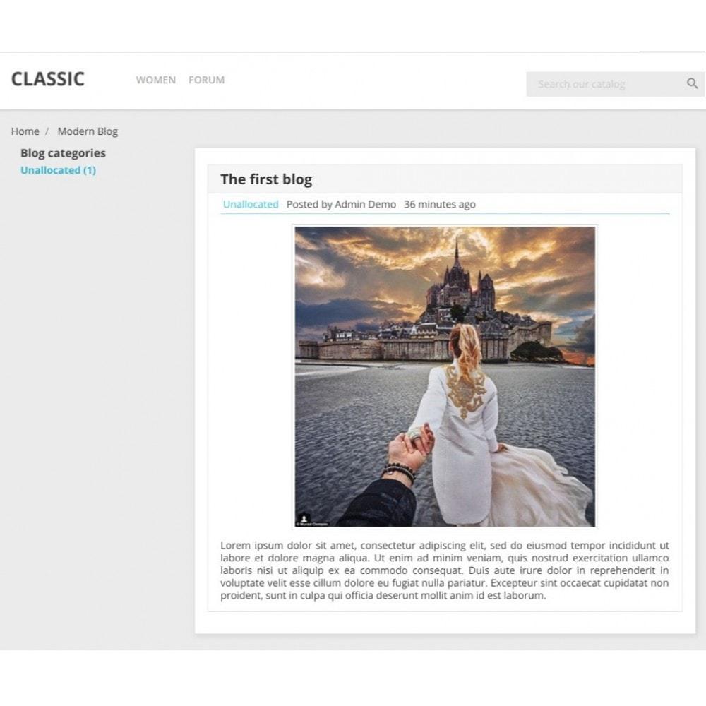 module - Blog, Forum & Aktualności - Modern Blog - Social comments - 6