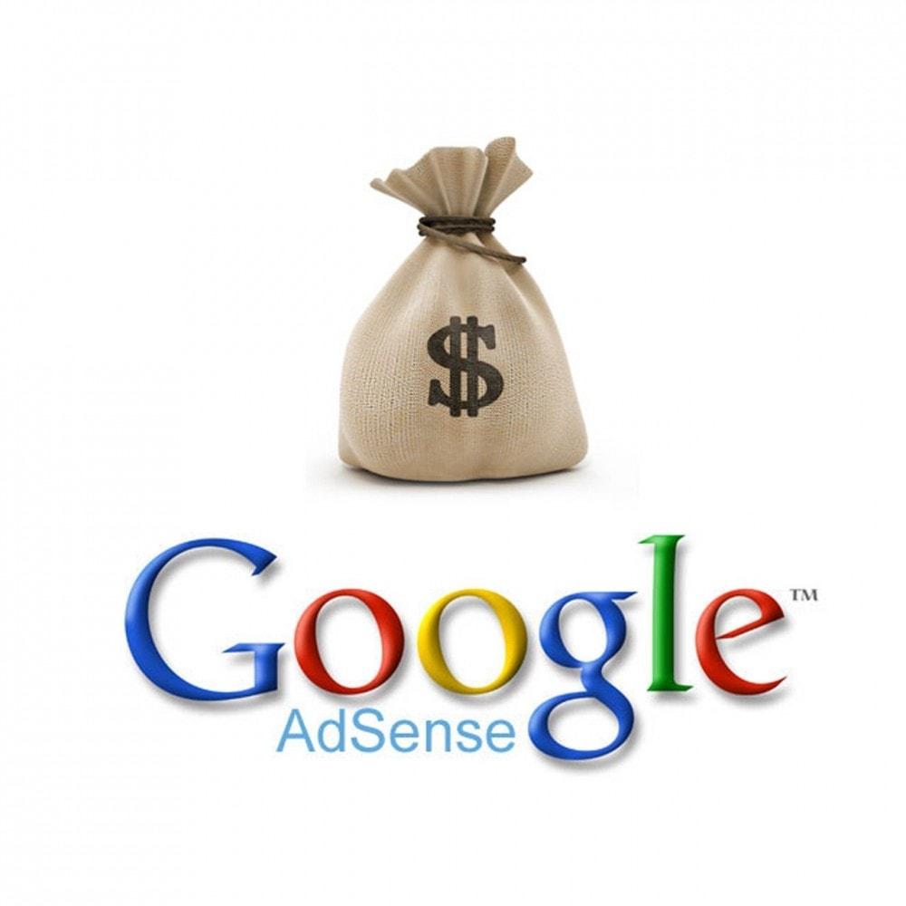 module - Indicizzazione a pagamento (SEA SEM) & Affiliazione - Easy Google Adsense - 1