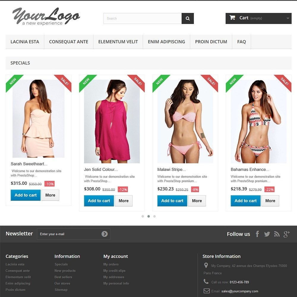 module - Gallerijen & Sliders - Special products carousel with Google Rich Snippets - 2