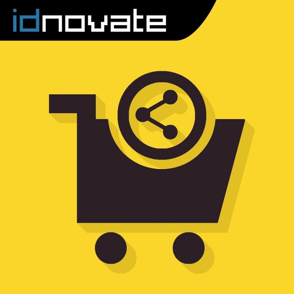 module - Compartir contenidos y Comentarios - Compartir el carrito - Añade productos desde la URL - 1