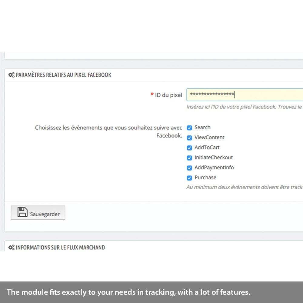 module - Remarketing & Warenkorbabbrüche - Analytics enhanced ecommerce, Adwords & Social tracking - 6