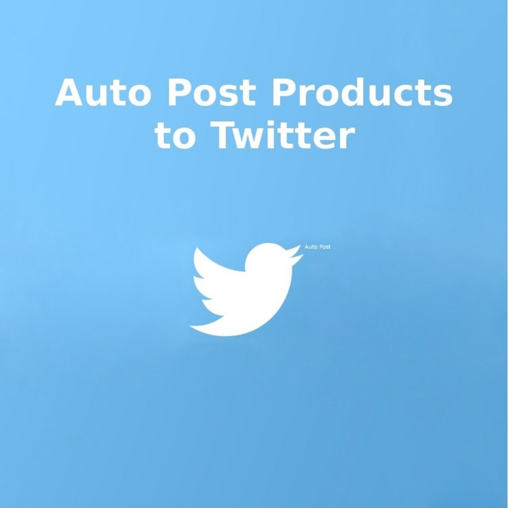 module - Teilen & Kommentieren - Auto-Post Products to Twitter - 1