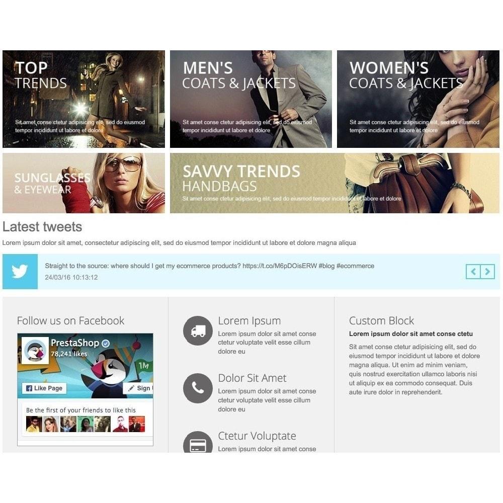 module - Widgety serwisów społecznościowych - Responsive Twitter Widget carousel - 1