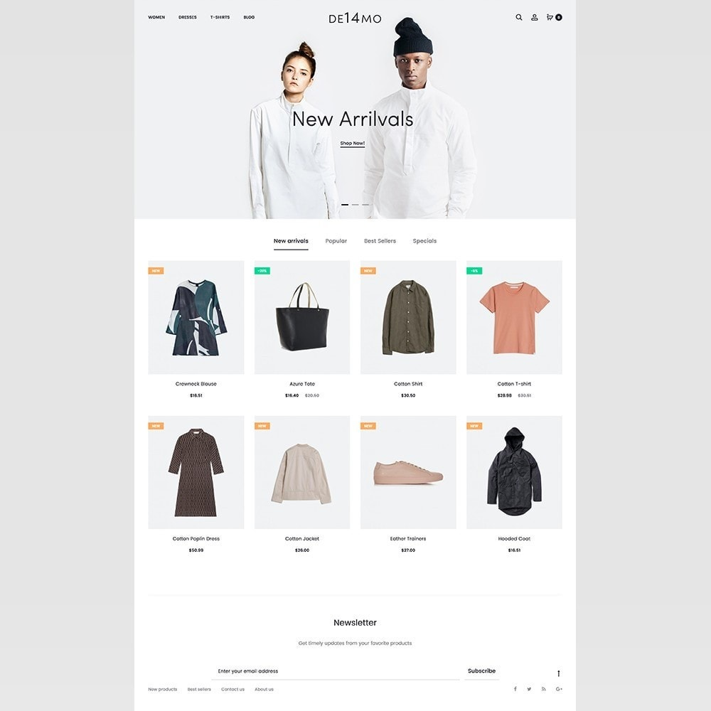 theme - Mode & Schoenen - mlc14 - A Unique and Modern e-Commerce - 3