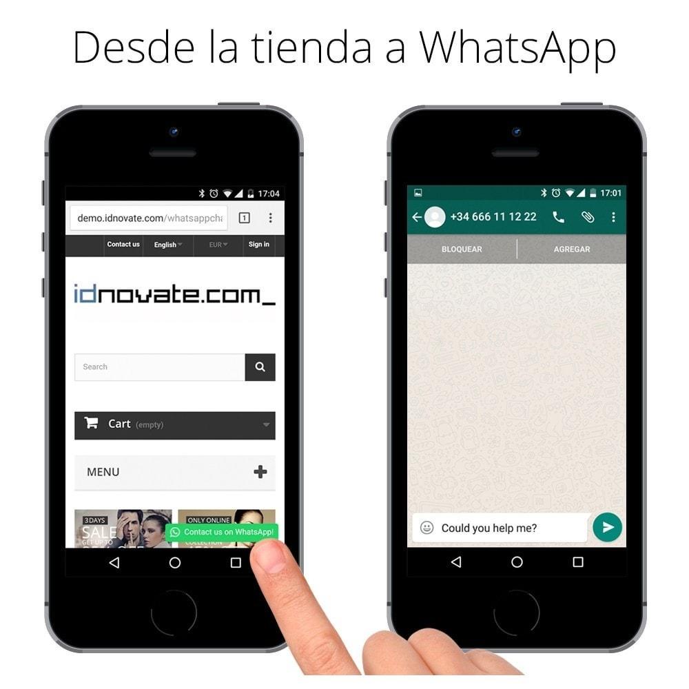 module - Asistencia & Chat online - WhatsApp - Chat con clientes y WhatsApp para Negocios - 5