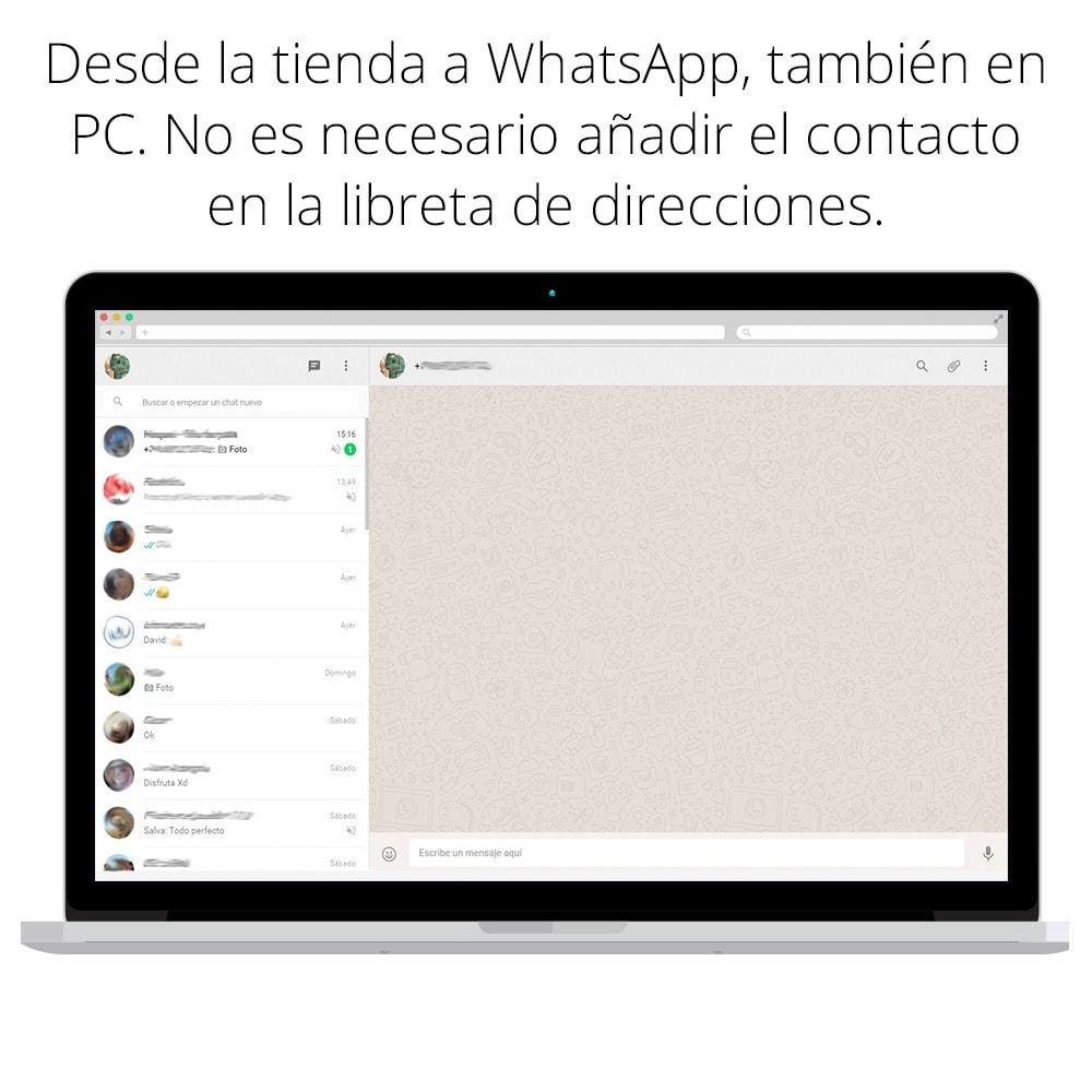 module - Asistencia & Chat online - WhatsApp - Chat con clientes y WhatsApp para Negocios - 6