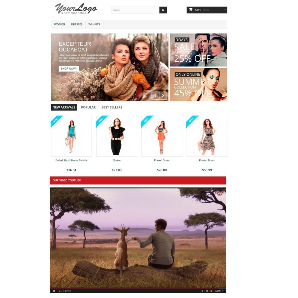 module - Vidéo & Musique - Responsive Video Youtube Home, Column and Product Page - 2