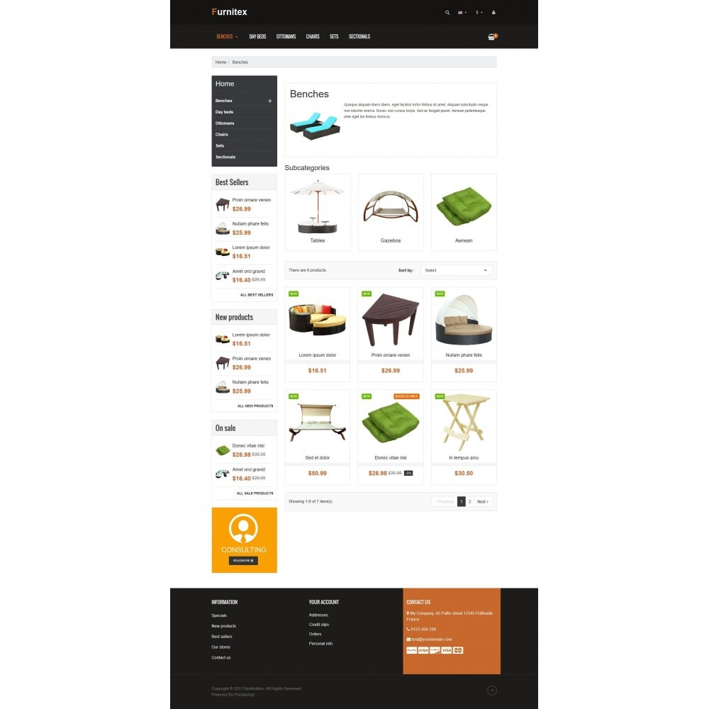 theme - Дом и сад - VP_Furnitex Store - 3