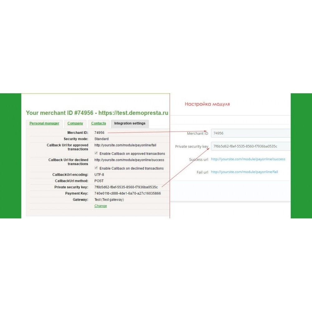 module - Альтернативных способов оплаты - Приём платежей через PayOnline - 1
