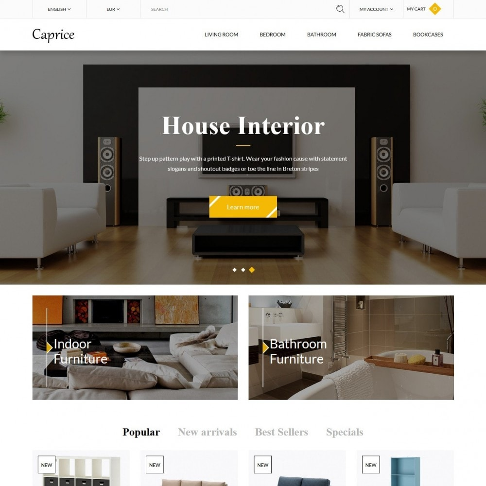 theme - Casa & Jardins - Caprice - 2