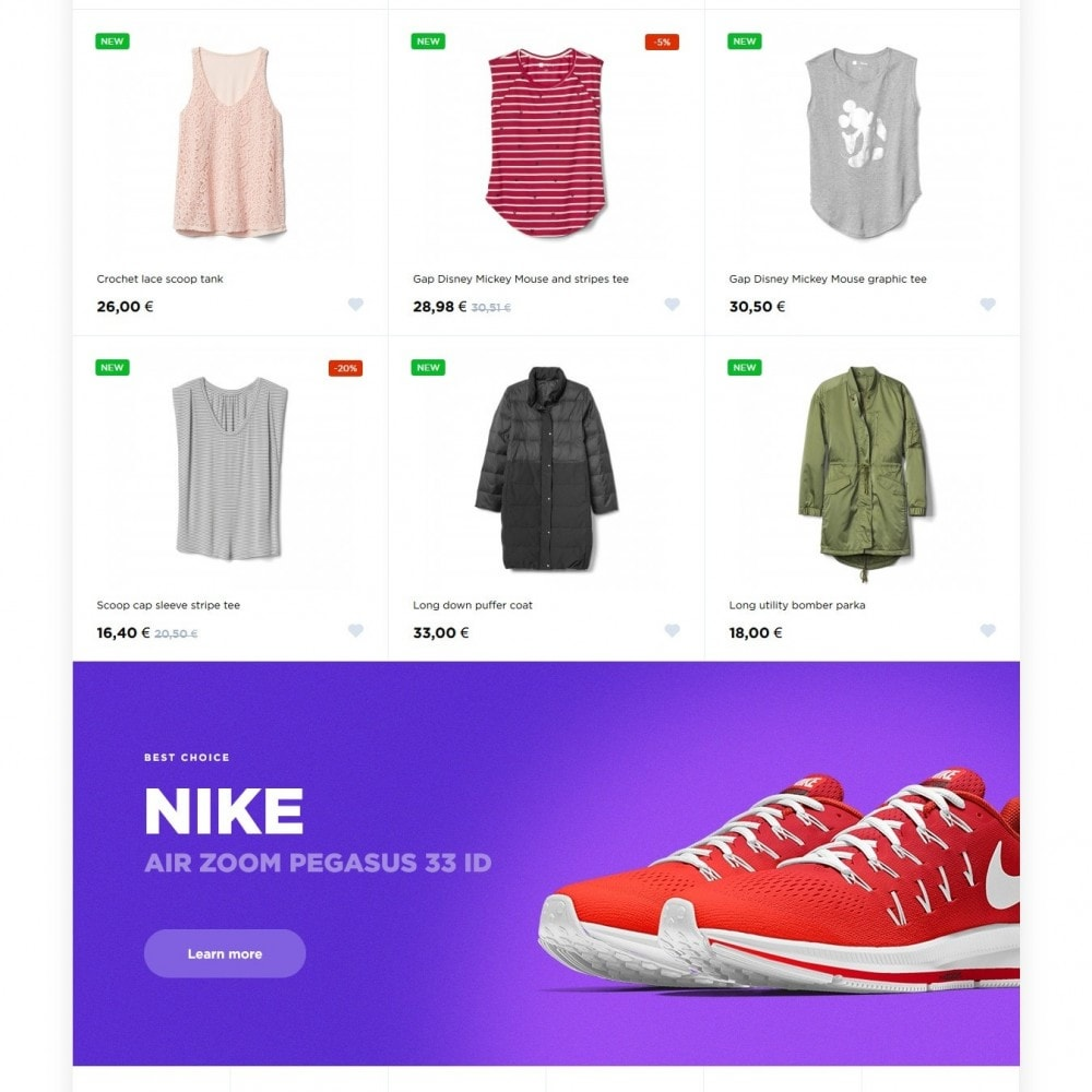 theme - Mode & Schoenen - Azurite Fashion Store - 3