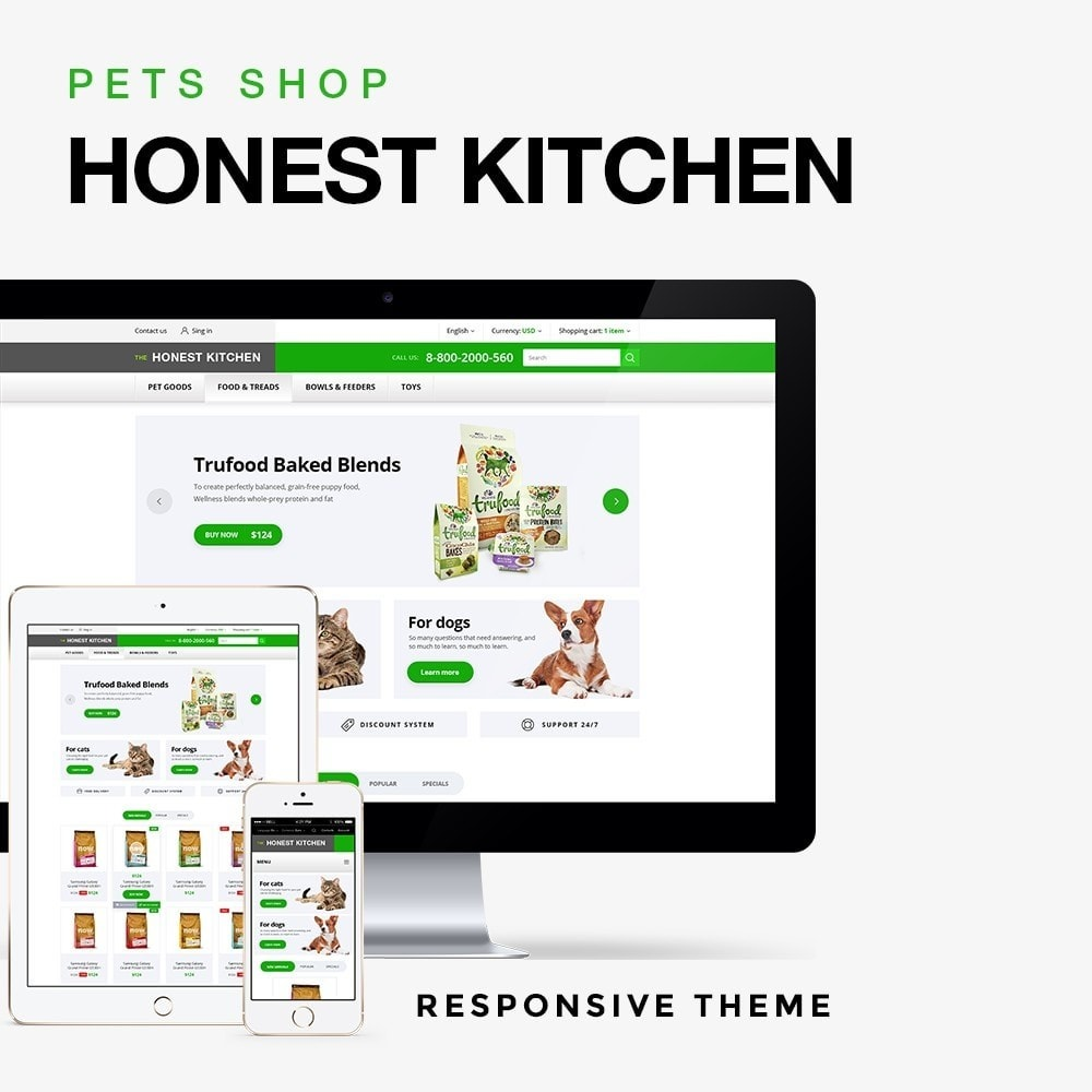 theme - Animales y Mascotas - The Honest Kitchen - 1