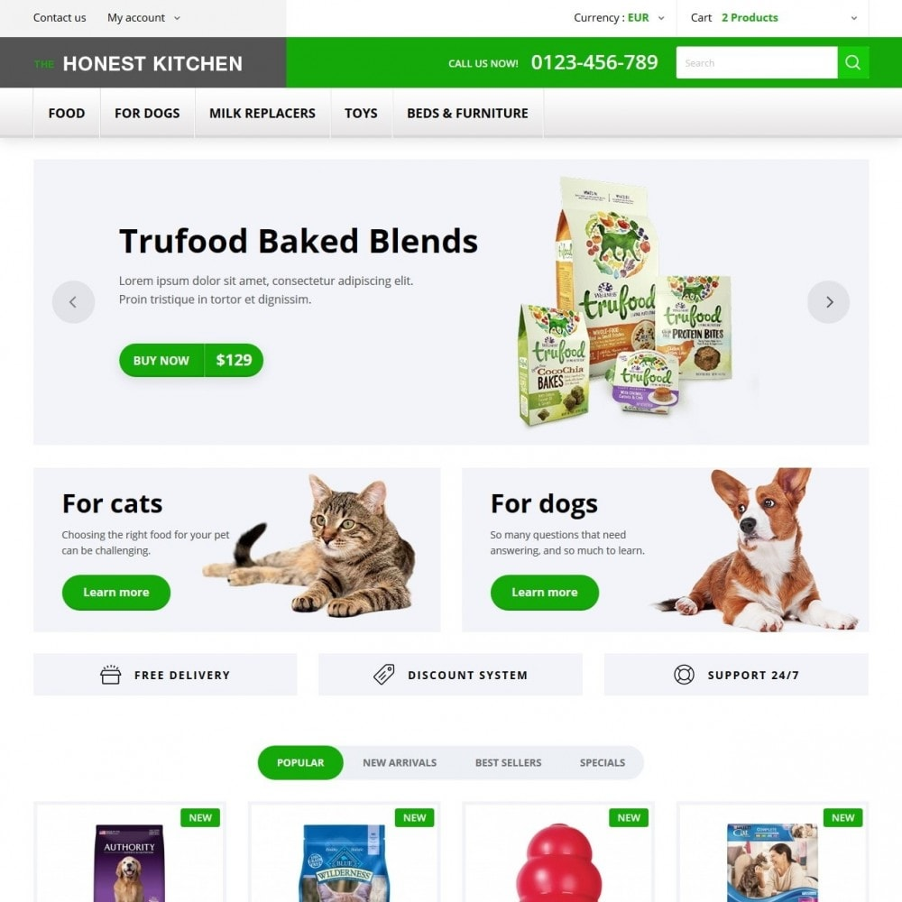 theme - Animals & Pets - The Honest Kitchen - 2