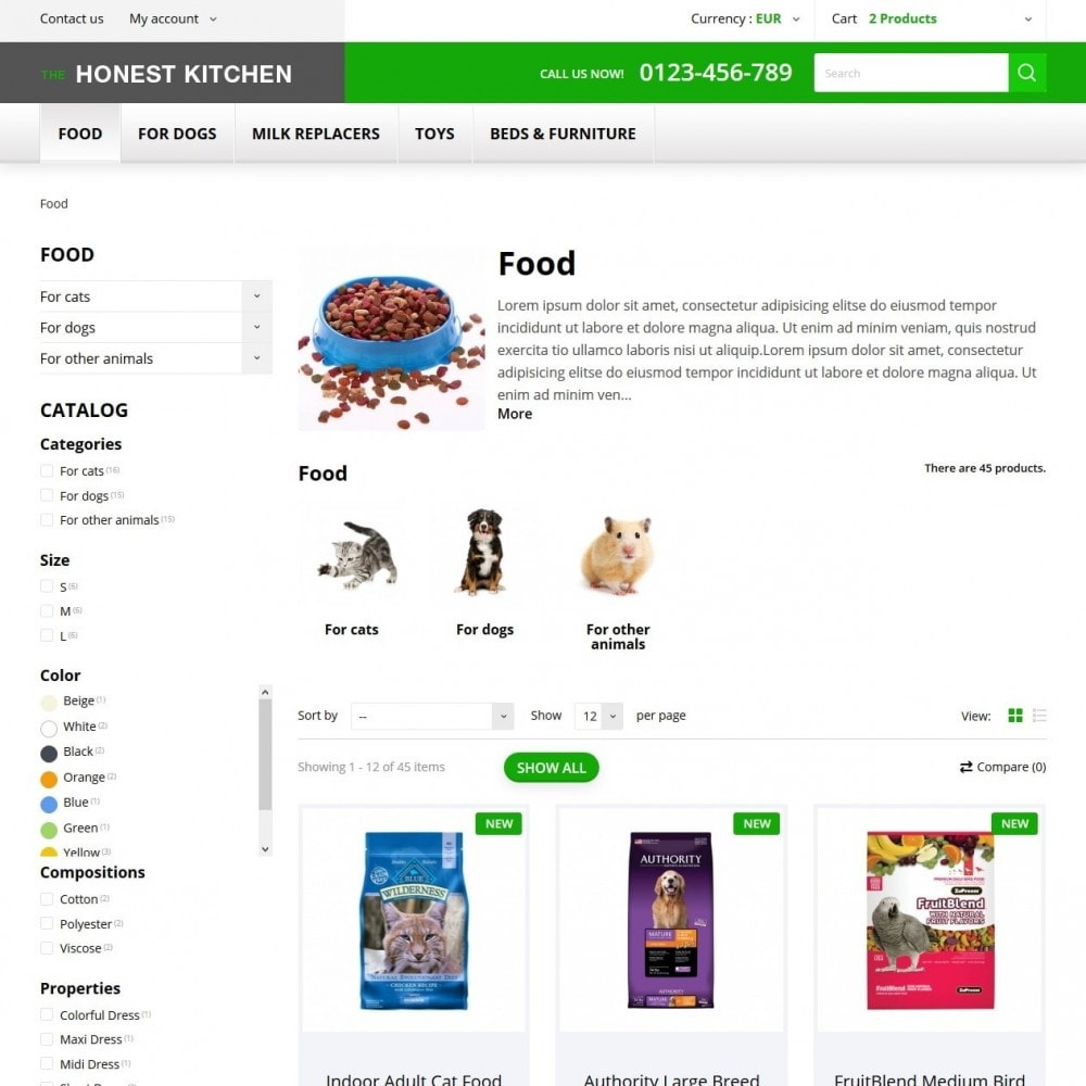 theme - Animaux - The Honest Kitchen - 4