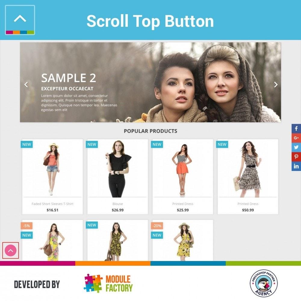 module - Инструменты навигации - Scroll Top Button - 3