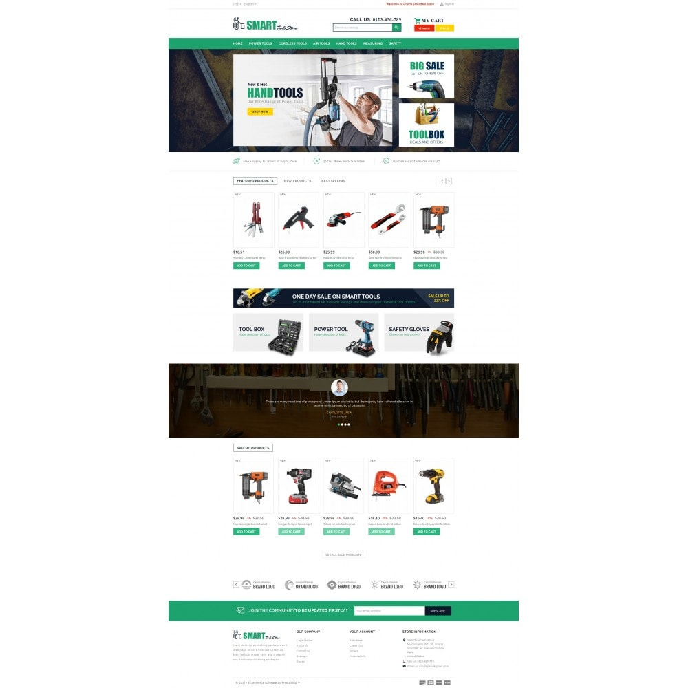 theme - Auto & Moto - Smart Tools Store - 2