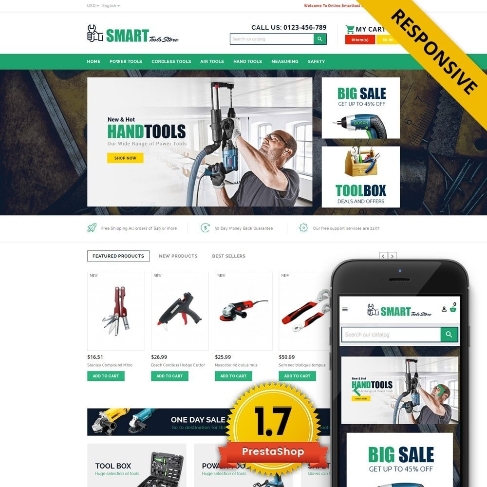theme - Carros & Motos - Smart Tools Store - 1