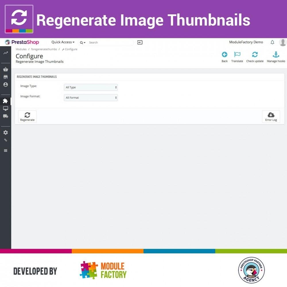 module - Produktvisualisierung - Regenerate Image Thumbnails - 1
