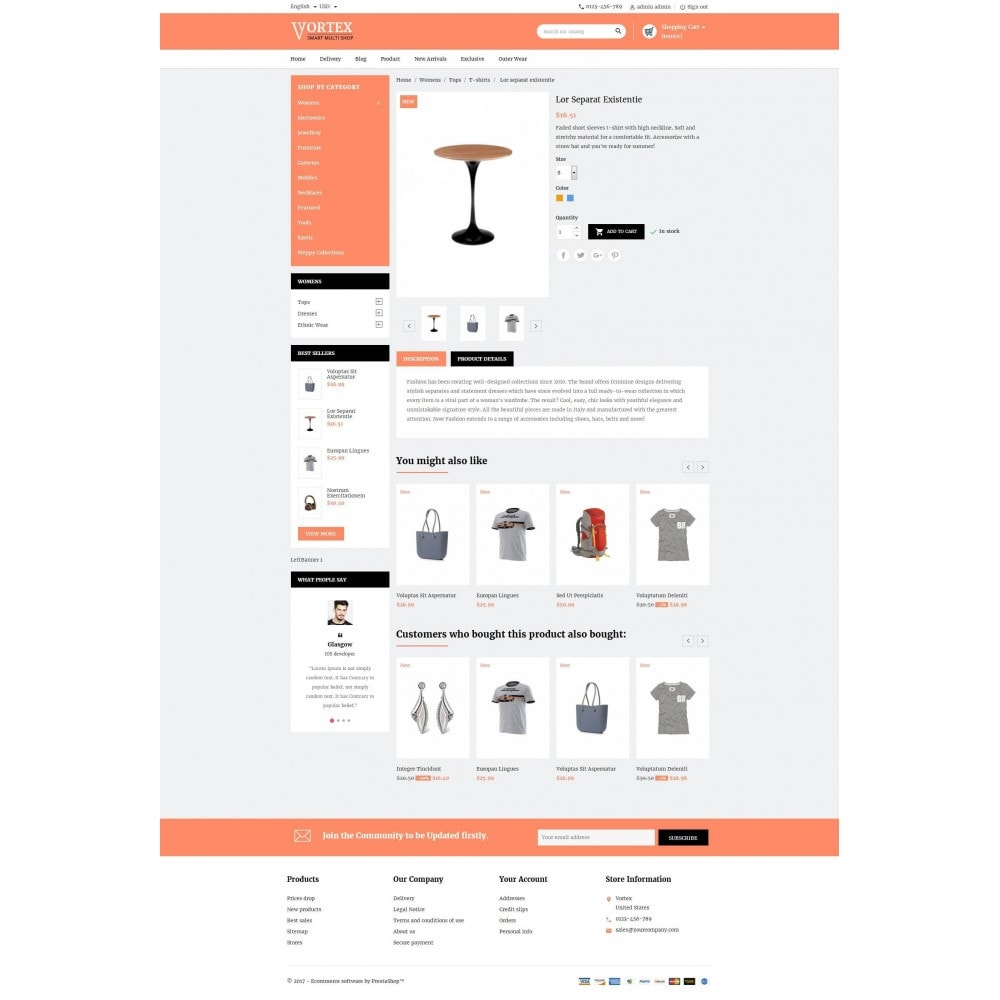 theme - Moda y Calzado - Vortex Smart Multishop - 5