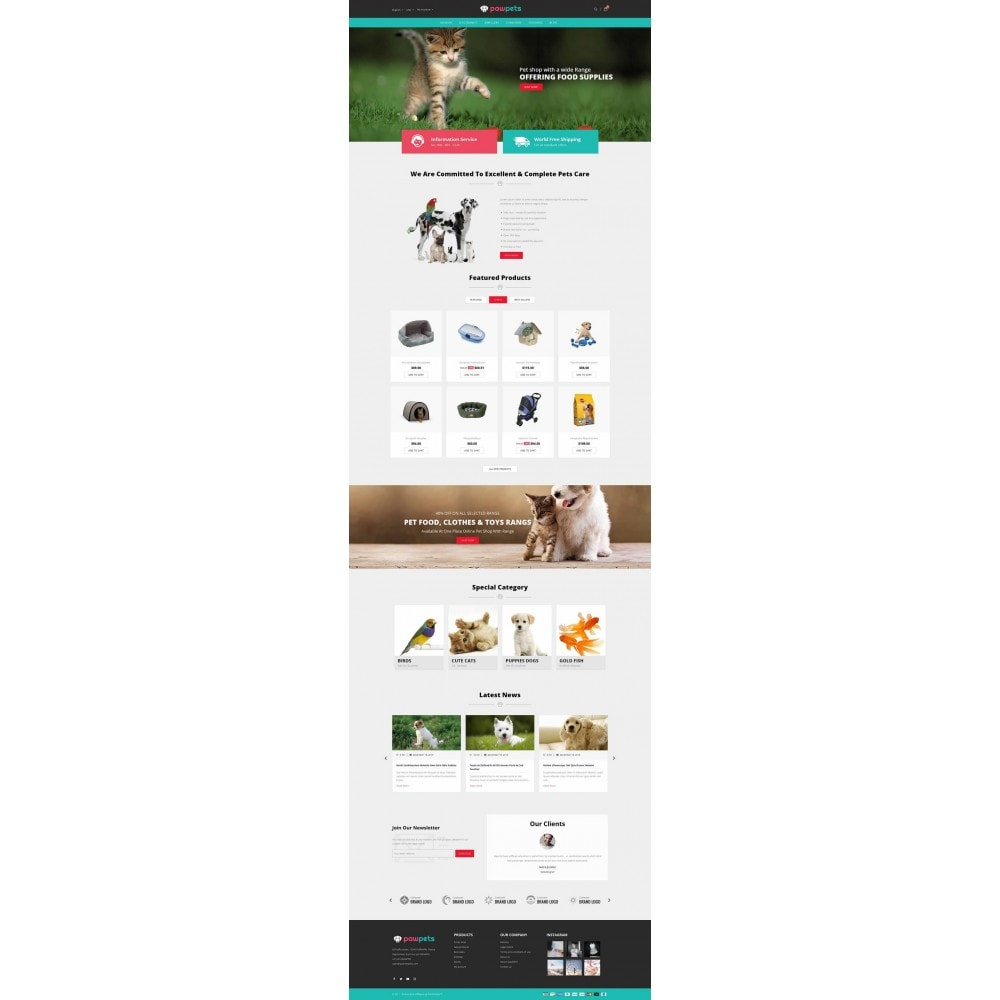 theme - Animais - Pawpets - Animals Store - 2