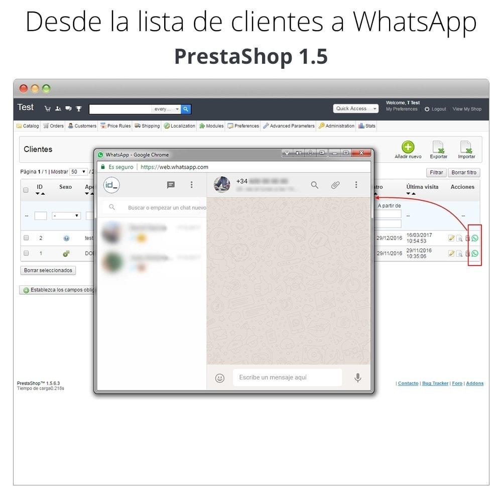 module - Asistencia & Chat online - WhatsApp - Chat con clientes y WhatsApp para Negocios - 9