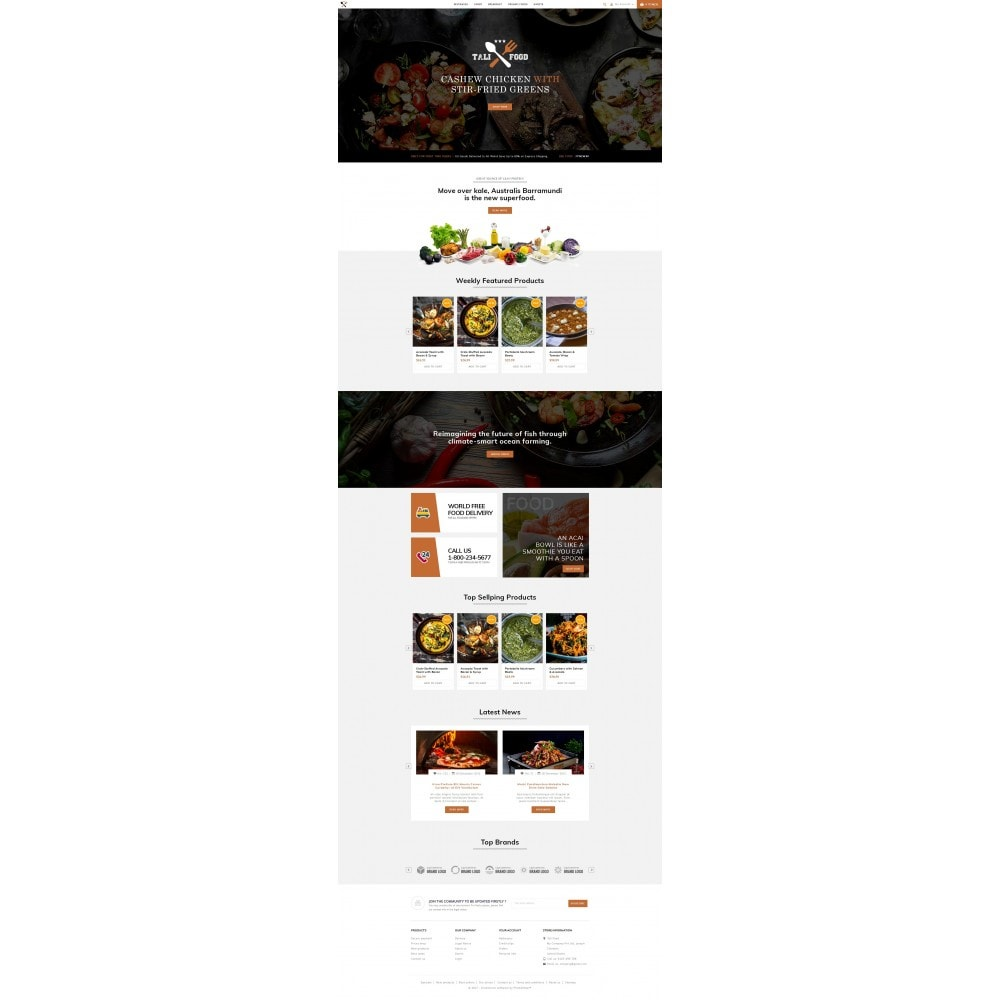 theme - Alimentation & Restauration - Tali Food Store - 2