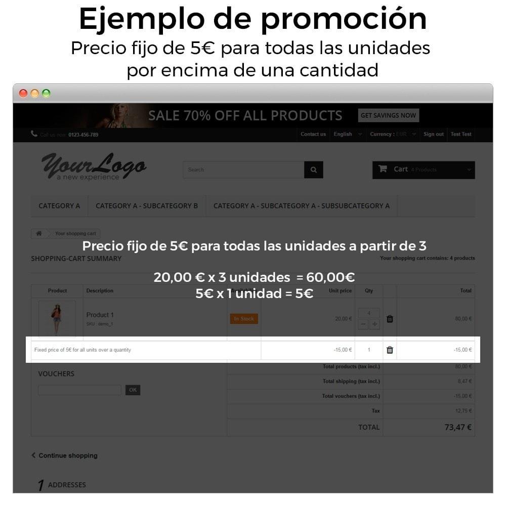 module - Promociones y Regalos - Promociones y descuentos (3x2, rebajas, ofertas, packs) - 9