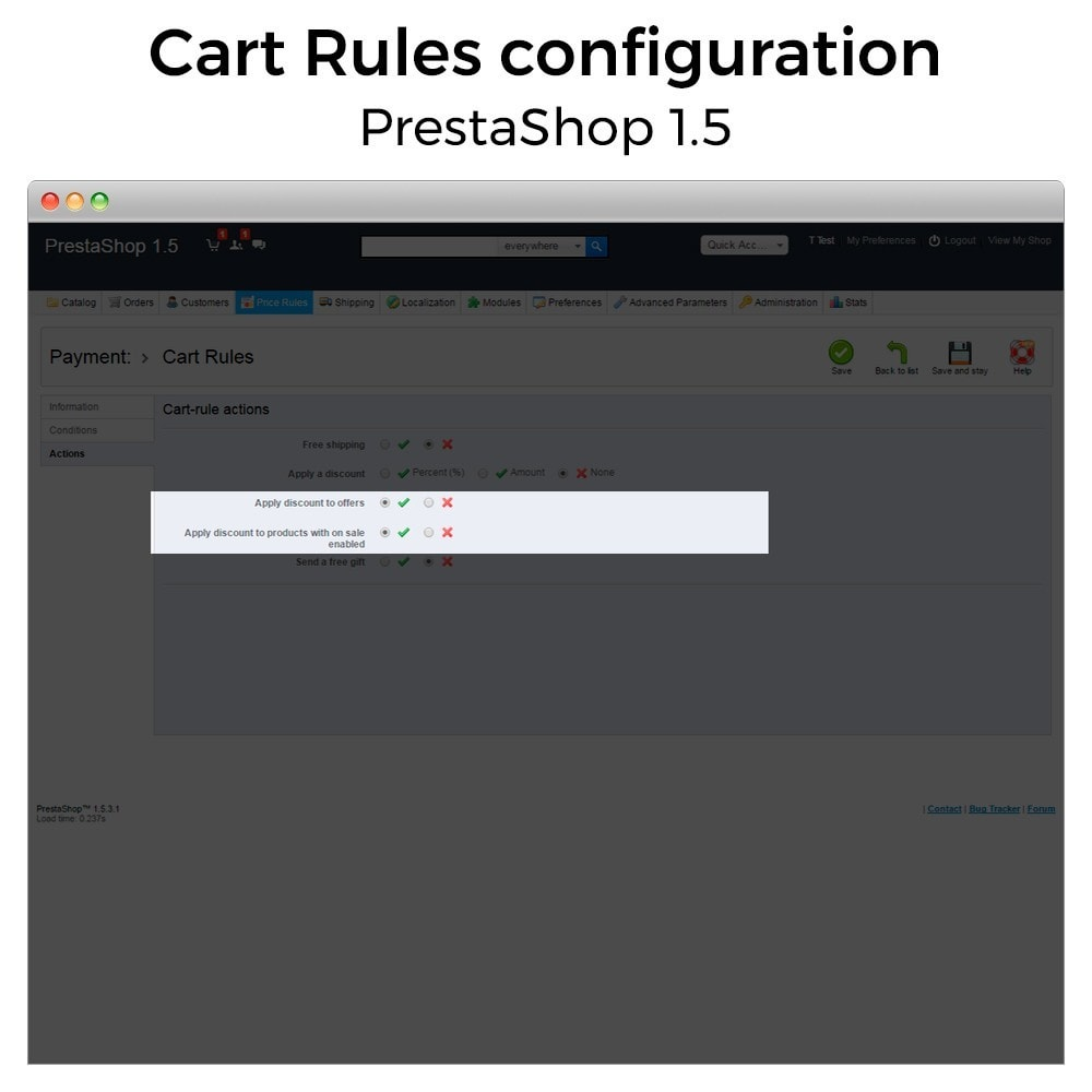 module - Promozioni & Regali - Conditional Cart Rules (without offers, on sale...) - 10