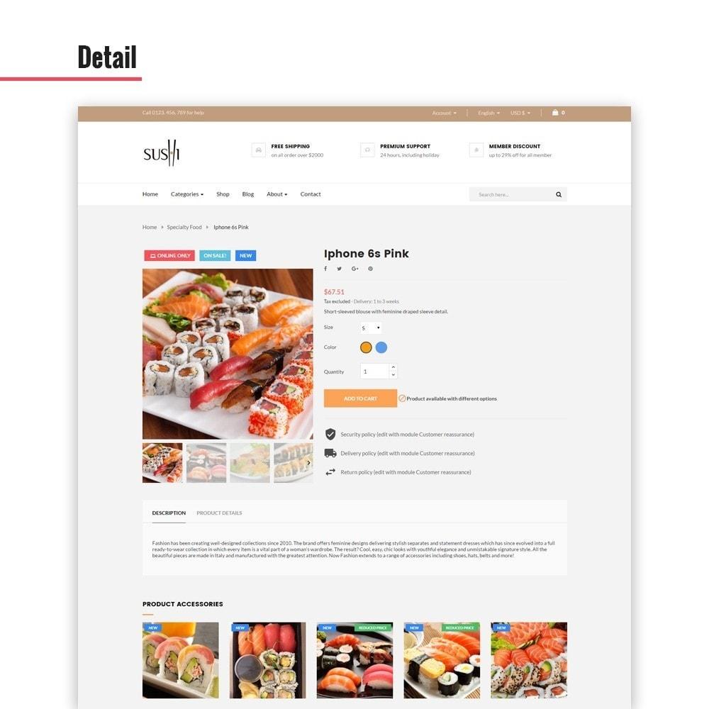 theme - Alimentation & Restauration - Leo I-sushi - 3