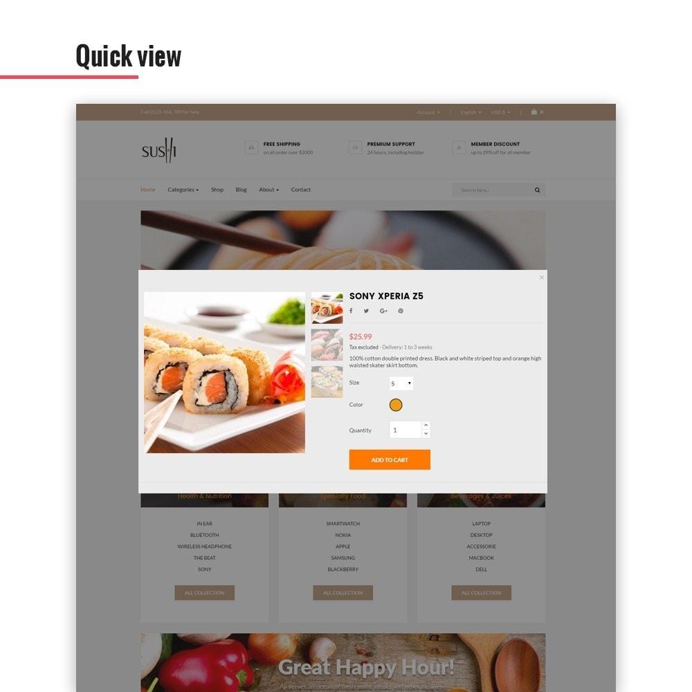 theme - Alimentation & Restauration - Leo I-sushi - 5